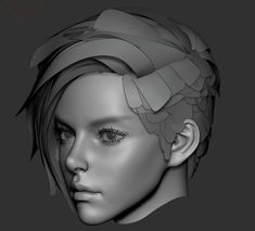 """female face study "" by segu son Zbrush Character, 3d Model Character, Character Modeling, 3d Modeling, Character Design, Blender 3d, Face Topology, Zbrush Anatomy, Zbrush Hair"