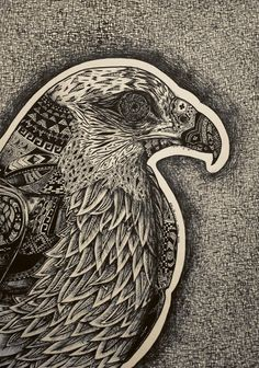 Native Symbols of the hawk by EdwardElricFan on DeviantArt - Native Symbols of the hawk by ~EdwardElricFan on deviantART - Raptors, Native Symbols, Hawk Tattoo, Drawing Sketches, Drawings, Feather Art, African Culture, Great Tattoos, Colour Images