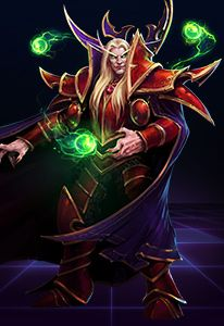 KAEL'THAS THE SUN KING Like all Blood Elves, Prince Kael'thas was transformed by the fall of Quel'thalas. Desperate to save his people from being consumed by their magical addiction, he joined forces with the Burning Legion and now lords over Tempest Keep.