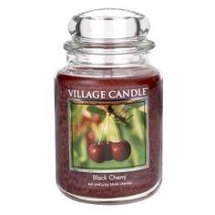 Village Candle Large Jar - Black Cherry