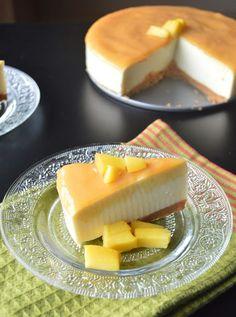 Palakkad Chamayal: Eggless Mango Cheesecake