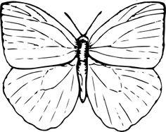 Butterfly clip art - vector clip art online, royalty free & public domain