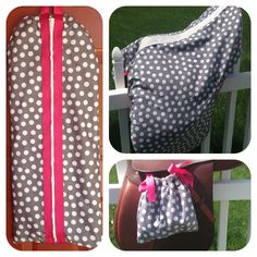 Custom saddle cover, stirrup covers, and bridle bag set. Forget boring accessories, customize your equestrian look at www.facebook.com/AppleLaneEquine