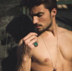 Mariano di vaio wear double u frenk ring