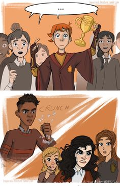 Post with 4298 votes and 130788 views. Tagged with funny, comic, harry potter, right in the feels; Harry Potter comics by Loquacious Literature Harry Potter Kiss, Harry Potter Comics, Harry Potter Fan Art, Harry Potter Universal, Harry Potter Memes, Harry Potter World, Percy Jackson, Tumblr Comics, Harry And Ginny