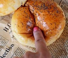 Bagel, Bread, Hamburger, Recipes, Drink, Food, Projects, Log Projects, Soda