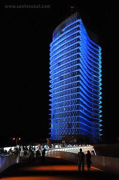 "Torre del Agua (""water tower"") in Zaragoza, Spain"