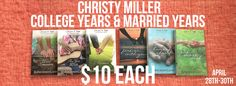 April 28th-30th Come Celebrate the Launch of Salty Kisses at Bookshop.robingunn.com with many Special Offers on Christy Miller Books!