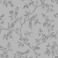 Fine Decor Beatrice Wallpaper - Silver