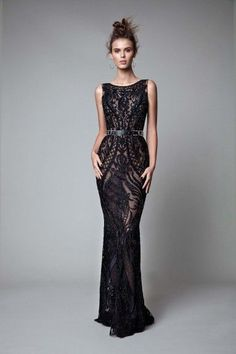 b0706b4834 34 Best Black Gowns images in 2019 | Beautiful dresses, Bridal ...