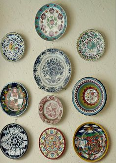 Plates inc.33 Popular Art, Decorative Plates, Home Decor, Folk Art, Interior Design, Home Interior Design, Home Decoration, Decoration Home, Interior Decorating