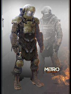 """Metro: Last Light"" Concept art by Vlad ""Feanture"" Tkach #stalker #metro2033 #Post_Apocalyptic"