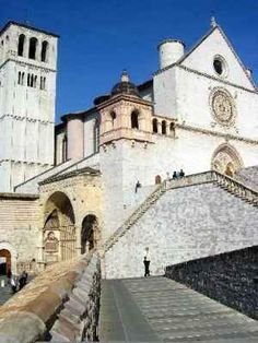 St. Francis Cathedral in Assisi, Italy