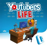 Youtubers Life Gaming 1.0.5 MOD APK  Data Unlimited Money  games simulation