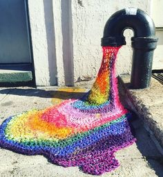 Yarn Bomb London Kaye Street Art