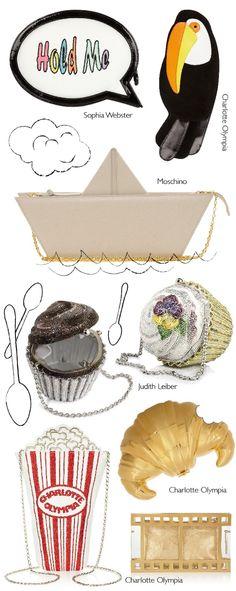 Inspiración DIY: bolsos objeto