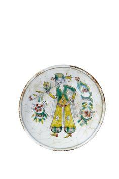 Lot : COUPELLE DE KUTAHYA DU XVIII SIÈCLE en céramique siliceuse, à la « Jeune[...]   Dans la vente Arts d'Orient et Orientalisme à Millon et Associés Paris