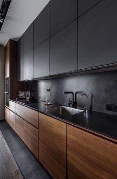 New kitchen decor colorful wood counter Ideas Kitchen Cupboard Designs, Kitchen Wall Cabinets, Kitchen Flooring, Kitchen Wood, Wood Cabinets, Diy Cupboards, Kitchen Counters, Modern Kitchen Interiors, Contemporary Kitchen Design