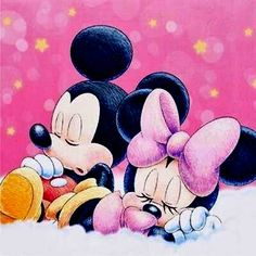 Mickey & Miney Mouse
