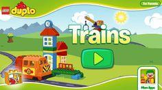 Voor de kleinste kinderen heeft LEGO een aantal ontzettend leuke en leerzame apps. Degene die we vandaag voor jullie bekijken is LEGO DUPLO Trains.