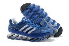 Adidas Springblade Drive Blå Hvid Herresko