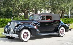 1938 Packard Twelve Convertible Victoria.