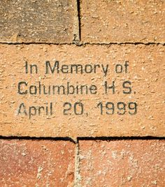 The devastating Columbine School shooting took place on this day, 1999.