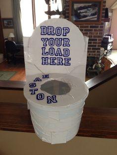 Schön The Toilet Valentine Box My Son Made Kid Stuff