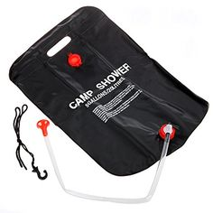 Forfar Camp Shower 20L 5Gallon Fantastic Nontoxic PVC Camping Hiking Solar Heated Camp Shower Bag >>> Click image for more details.