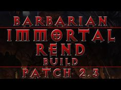Diablo 3 - Barbarian Best Build with IK (RoS Patch 2.3) - YouTube