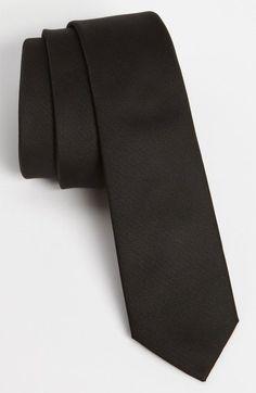 TOPMAN Slim Woven Tie. #topman #