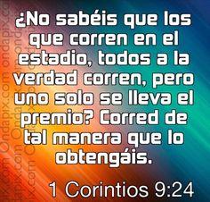 Cajita de Oracion: Corre siempre para Ganar.. No te des por vencido.....