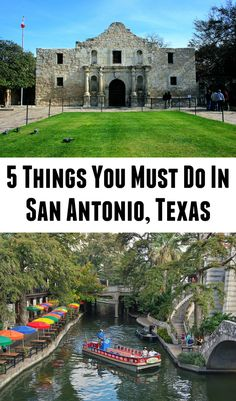 5 Things to Do in San Antonio, Texas in One Day. Click to start planning or save for later!