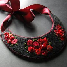 biedermeier z czerwienią -  rezerwacja (proj. agat.handmade), do kupienia w DecoBazaar.com