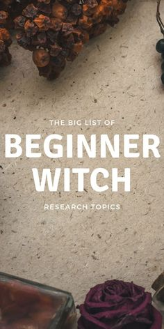 A Beginner Witch Needs To Immediately Research These Topics! - - If you're a beginner witch, you don't know what you don't know. Use this handy list to help guide your research and magick studies. Types Of Witchcraft, Witchcraft Herbs, Witchcraft Books, Green Witchcraft, Witchcraft Symbols, Witchcraft History, Witchcraft Tattoos, Witch Symbols, Wiccan Witch