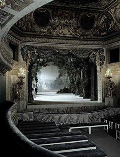 The Petit Theatere de Marie Antoinette in Versailles France