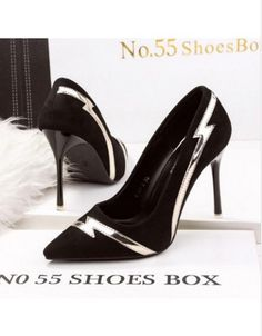 d067dd2e635a Wholesale price  US  14.86 Cheapest New Style Fashion Sexy Oxycephaly Suede  Shallow Mouth Women Shoes Black