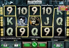 Jouer avec cette épatante machine à sous 20 lignes Frankenstein, et entrez dans l'univers du célèbre monstre !  http://www.casinobens.com/machines-a-sous-20-lignes-frankenstein.php
