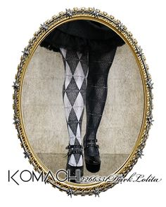 "【Tights no.7 Mirror Mirror】   ✝ 100% made in JAPAN ✝    ""Distorted reflection of a made-up reality"" Light and Darkness. This design emphasizes the peculiarities of mirrors. ✝ Fits PLUS and TALL sizes too! ✝ Buy it now at http://www.galaxybroadshop.com/products/detail.php?product_id=639"
