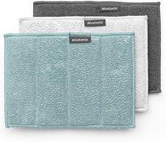 Brabantia Microfibre Cleaning Pads (Set of Multi-Colour, 16 x 22 cm Chemical Free Cleaning, Mint, Ebay, Microfibre, Amazon Fr, Parfait, Free Delivery, Sparkle, Couture