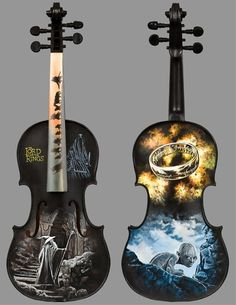 Violin - Lord of the Rings. -- And I was just thinking about buying a violin, and this just confirmed my purchase. :D