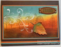 Autumn Friend Stampin' Up! Card created by Michelle Zindorf