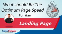 PPC Management Company Tips - Evaluate your landing page speed
