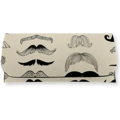 Moustache Print Clutch Bag Comic book print bag. clutch purse, hand... ($27) ❤ liked on Polyvore featuring bags, handbags, clutches, cartoon purse, brown purse, cartoon handbag, comic handbag and comic purse