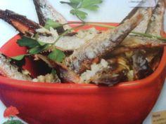 Receitas - Sardinhas fritas com molho de vinagre - Petiscos.com