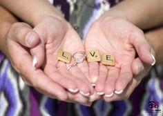Engagement photo prop ideas