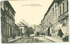 Stará Bratislava Bratislava, Old Street, Homeland, Old Photos, Street View, Mesto, Times, Travel, Squares