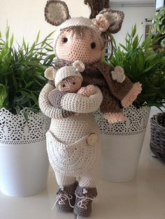 Made by Thea S (Lalylala)KIRA the kangaroo made by Thea S. / crochet pattern by lalylala