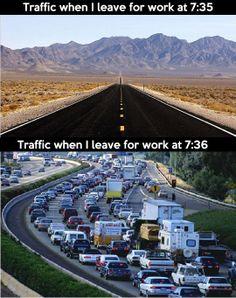 I will never understand this traffic phenomenon…