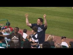 Sal and Q have to get a stadium full of baseball fans to chant along with them. The challenge is that the chants have nothing to do with baseball.